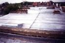 Flat zinc roofwork