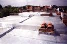 Large zinc roof